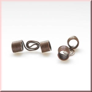 Copper wire beads - model 3