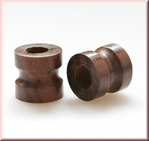 rosewood beads - BWDRSPL-046