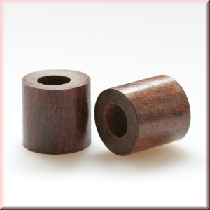 rosewood beads - BWDRSPL-030