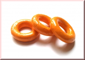 wooden rings yellow: WRP-002