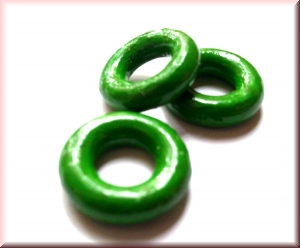 wooden rings green: WRP-003