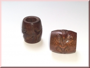 rosewood beads - WBDROS-011