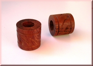 rosewood beads - WBDROS-303